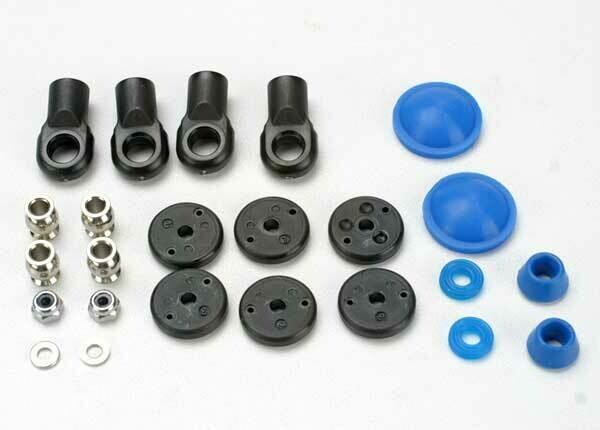 Rebuild Kit, GTR Shock (X-Rings, Bump Stops, Bladders, All Pistons, Piston Nuts, Shock Rod Ends) Renews 2 Shocks