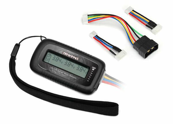 LiPo Cell Voltage Checker/Balancer (2968X)