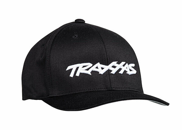 Traxxas Logo Hat Black Flexfit L/XL
