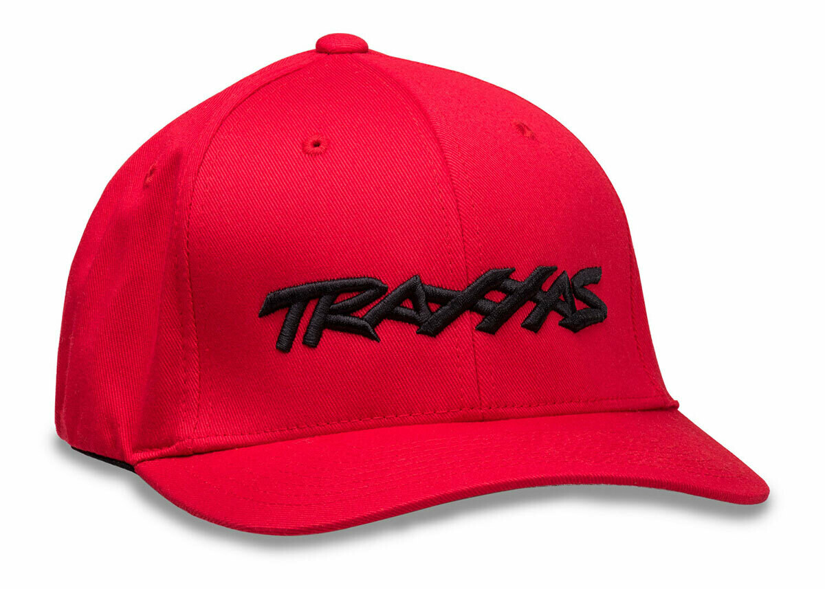 Traxxas Logo Hat Red Flexfit S/M