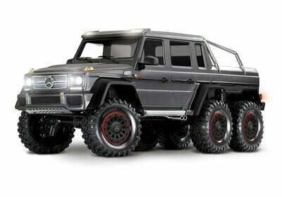 Traxxas TRX-6 Mercedes-Benz G 63 AMG 6x6 (XL-5HV, TQi, LED Lights) (No Battery or Charger) - Special Edition TRX88096-4-Special-Edition
