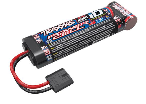 Traxxas Battery, Series 4 Power Cell ID, 4200mAh (NiMH, 8.4V flat)