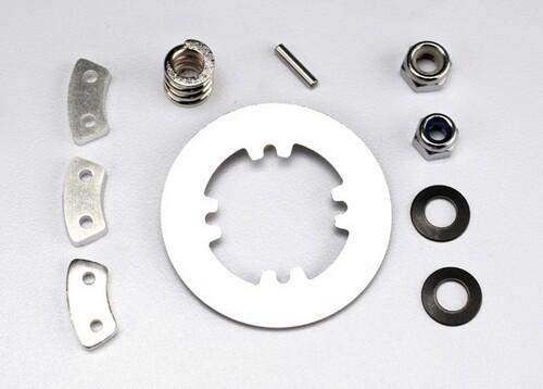 Rebuild Kit (Heavy Duty), Slipper Clutch (Steel Disc/ Aluminum Friction Pads (3)/ Spring, Revo (1)/ Spring, Maxx (1)/ 2x9.8mm pin/ 5x8mm MW/ 5.0mm NL (1)/ 4.0mm NL (1))