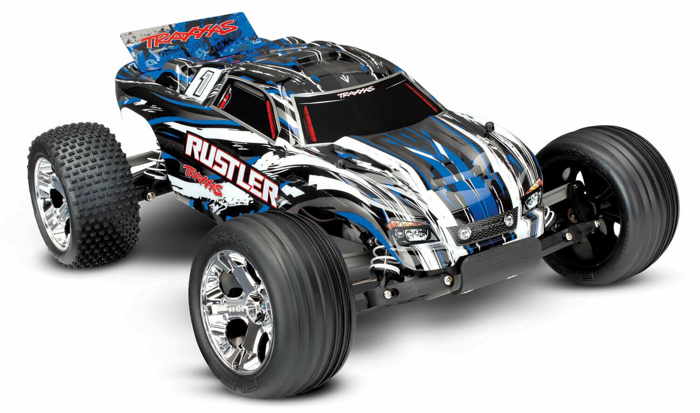 Traxxas Rustler XL-5 (2.4GHz TQ/8.4V/DC Charger)