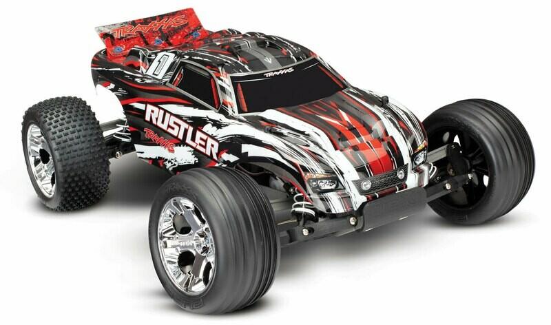 Traxxas Rustler XL-5 (2.4GHz TQ/No Batt or Charger)