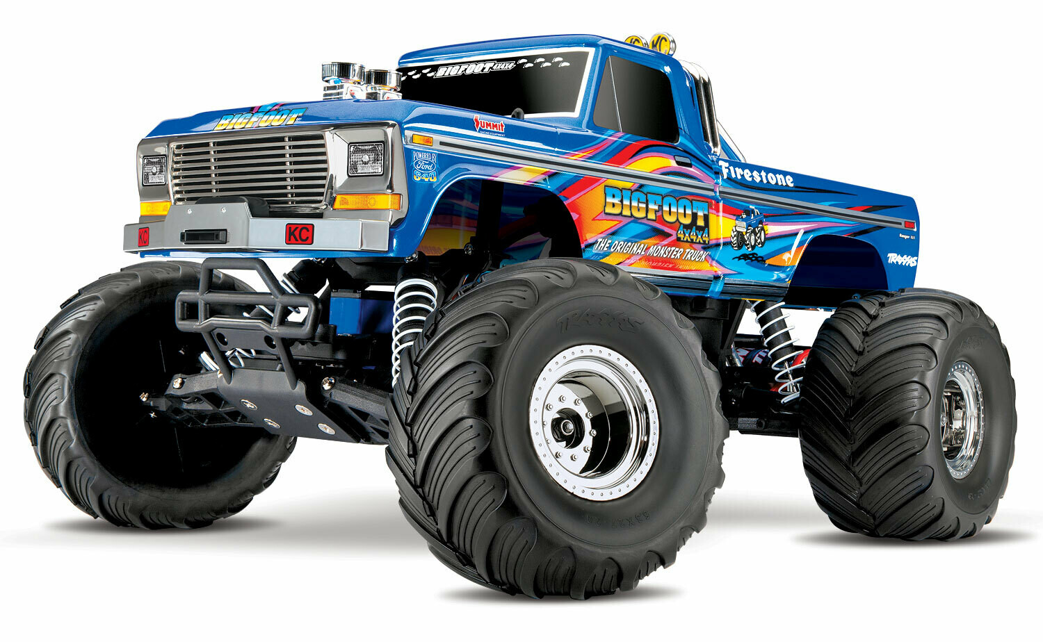 Traxxas BigFoot No.1 Original Monster Truck XL-5 (TQ/8.4V/DC Chg)