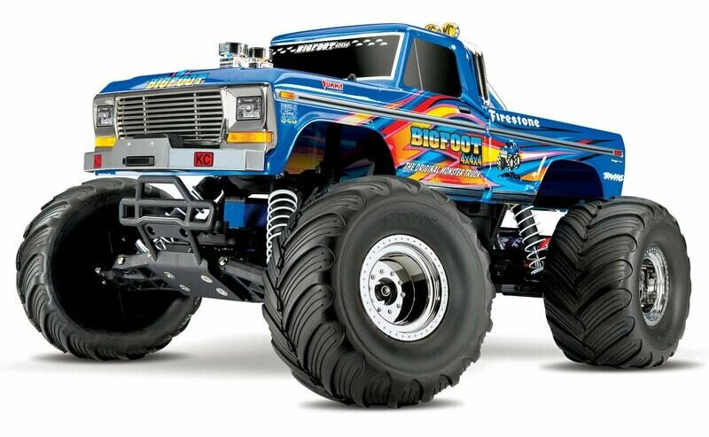 Traxxas BigFoot No.1 Original Monster Truck XL-5 (TQ/8.4V/DC Chg)