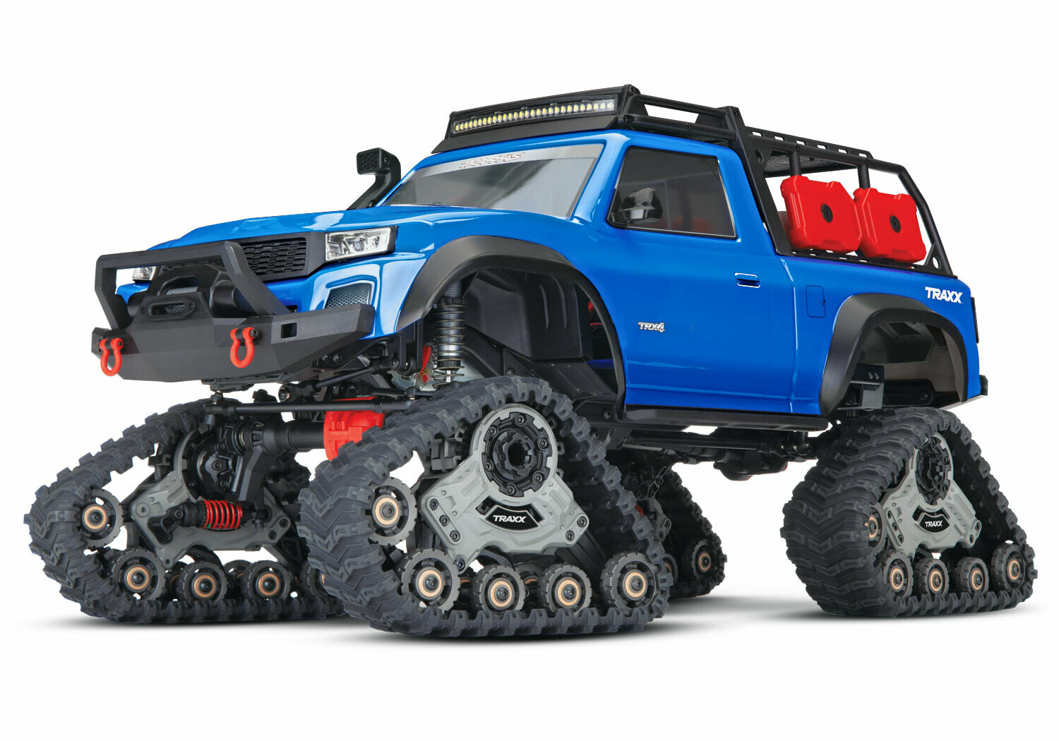 TRX-4 Equipped with Traxx (TQ/No Batt or Chg) - BONUS OFFER! INCLUDES FOUR TYRES AND WHEELS TO TACKLE ANY TERRAIN