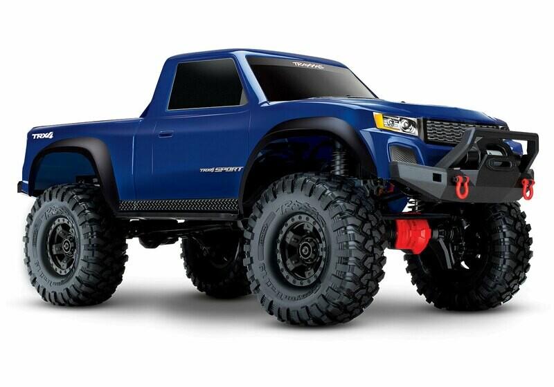 TRX-4 Sport 4WD Electric Truck (TQ/No Batt or Chg)