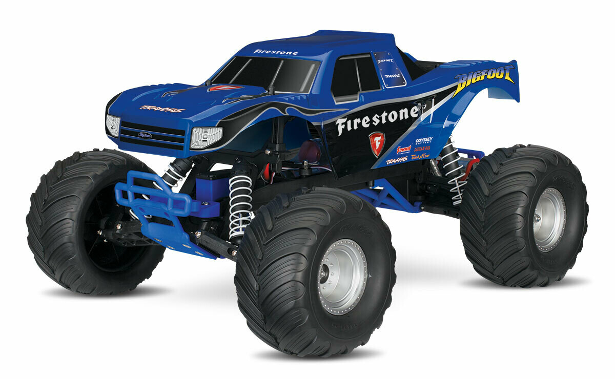 Traxxas Bigfoot 1/10 Monster Truck (TQ/8.4V/DC Chg)