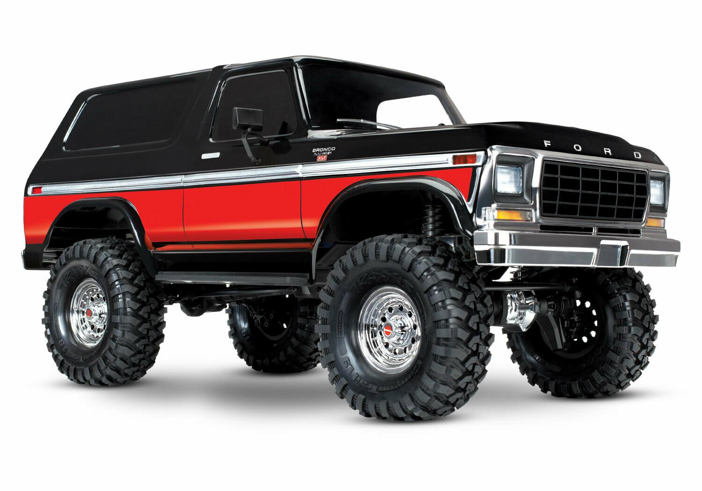 Traxxas Ford Bronco Ranger TRX-4 (TQi/No Batt or Chg)