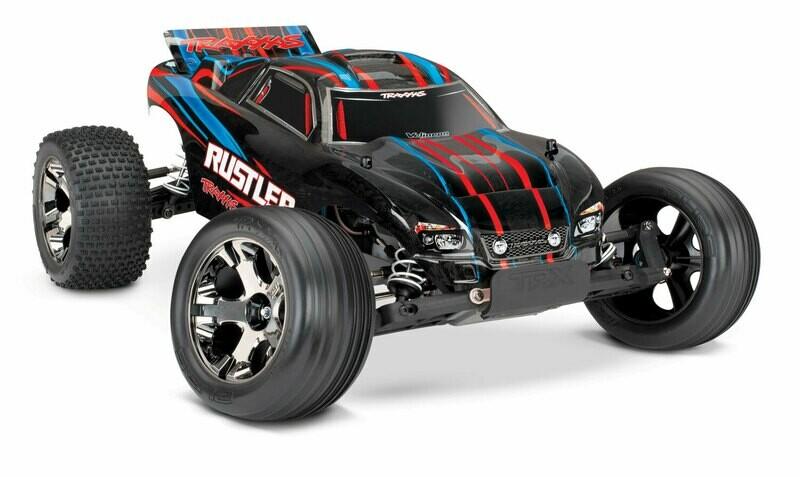 Traxxas Rustler VXL Brushless 2WD TSM (TQi/No Batt or Chg)