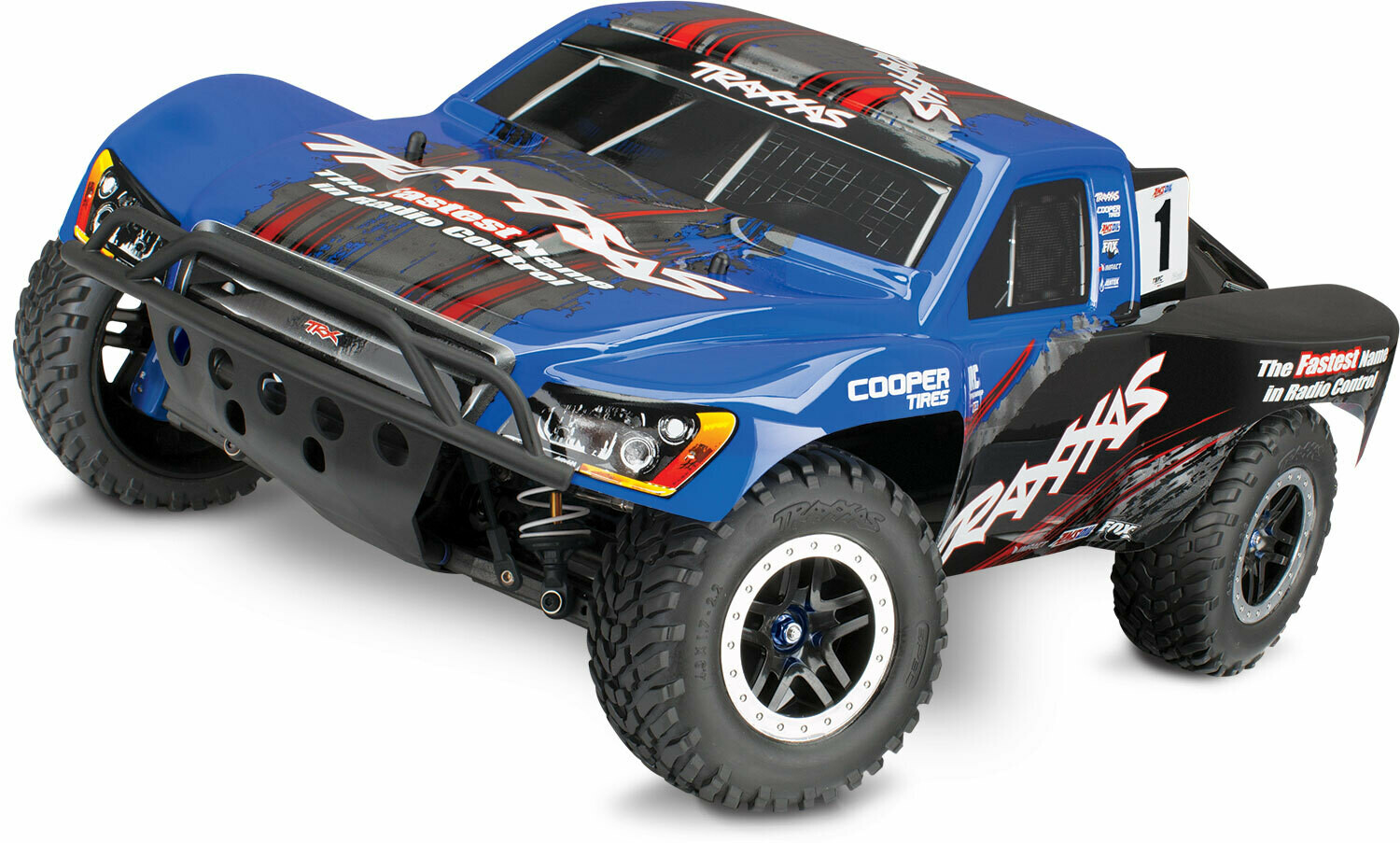 Traxxas Slash 4x4 Ultimate VXL Brushless TSM with OBA (TQi Bluetooth®/No Battery or Charger) Includes FREE Phone Mount While Stock Lasts
