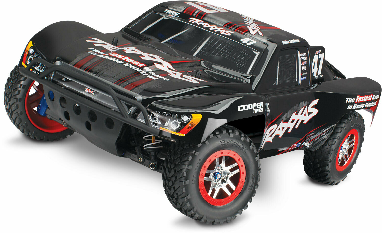 Traxxas Slash 4x4 Ultimate VXL Brushless TSM with OBA (TQi Bluetooth®/No Battery or Charger) - Mike Jenkins Edition, Traxxas #47