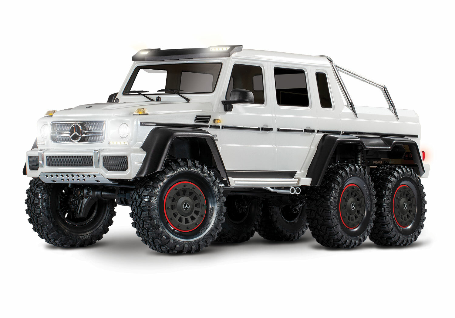 Traxxas TRX-6 Mercedes-Benz G 63 AMG 6x6 (XL-5HV, TQi, LED Lights) (No Battery or Charger) - Special Edition