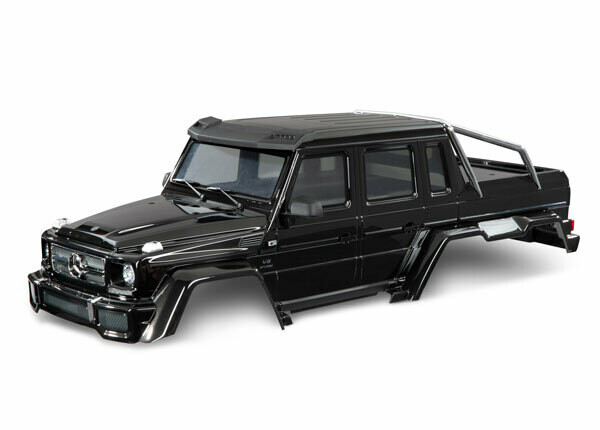 Body, Mercedes-Benz® G 63®, Complete (Gloss Black Metallic) (Includes Grille, Side Mirrors, Door Handles, & Windshield Wipers)