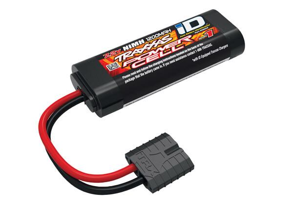 Traxxas Battery, Series 1 Power Cell, 1200mAh (NiMH, 6-C Flat, 7.2V, 2/3A)