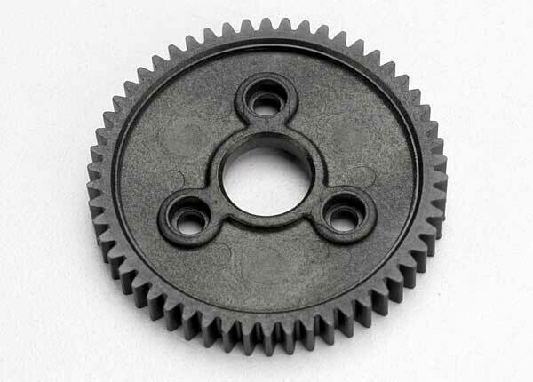Spur Gear, 54-Tooth (0.8 Metric Pitch, Compatible with 32-Pitch)