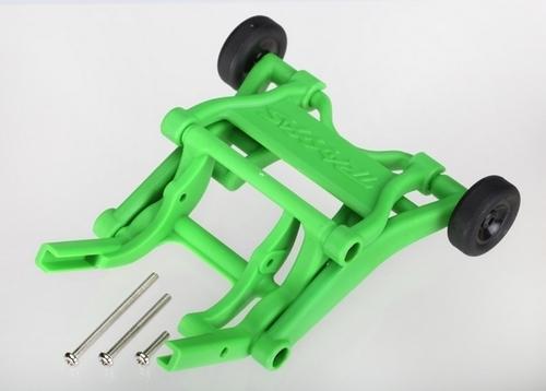 Wheelie Bar, assembled (Green) (fits Slash, Stampede, Rustler, Bandit series)