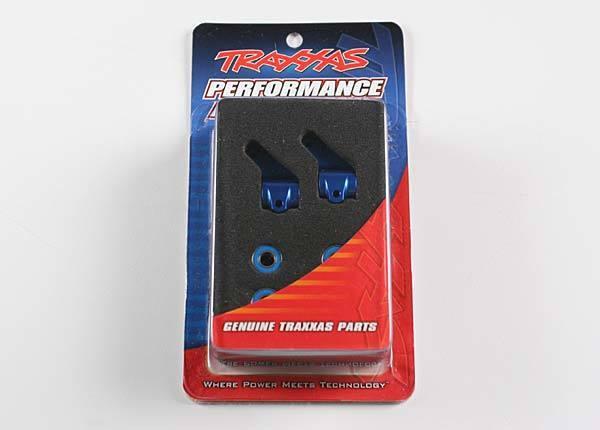 Steering blocks, Rustl/Stamp/Bandit blue-anodized,5x11mm BB