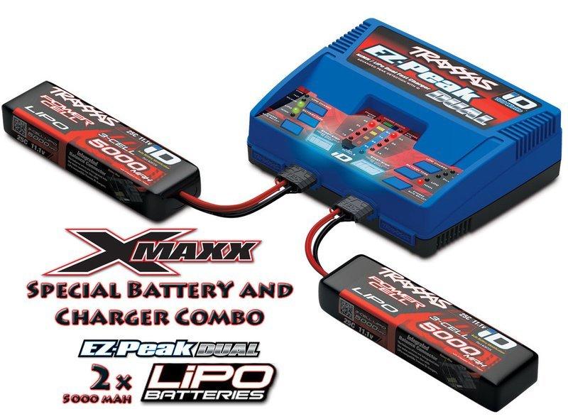 Traxxas EZ-Peak Dual ID Charger w/2x3S 5000mAh LiPo