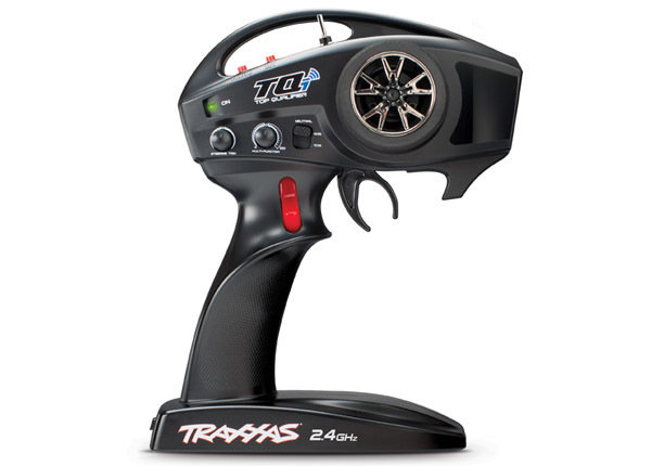 TQi 2.4 GHz High Output radio system, 4-channel with Traxxas Link Wireless Module, TSM (4-ch transmitter, 5-ch micro receiver)