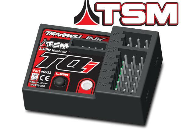 Traxxas Receiver 2.4GHz TQi 5Ch Micro Telem/TSM