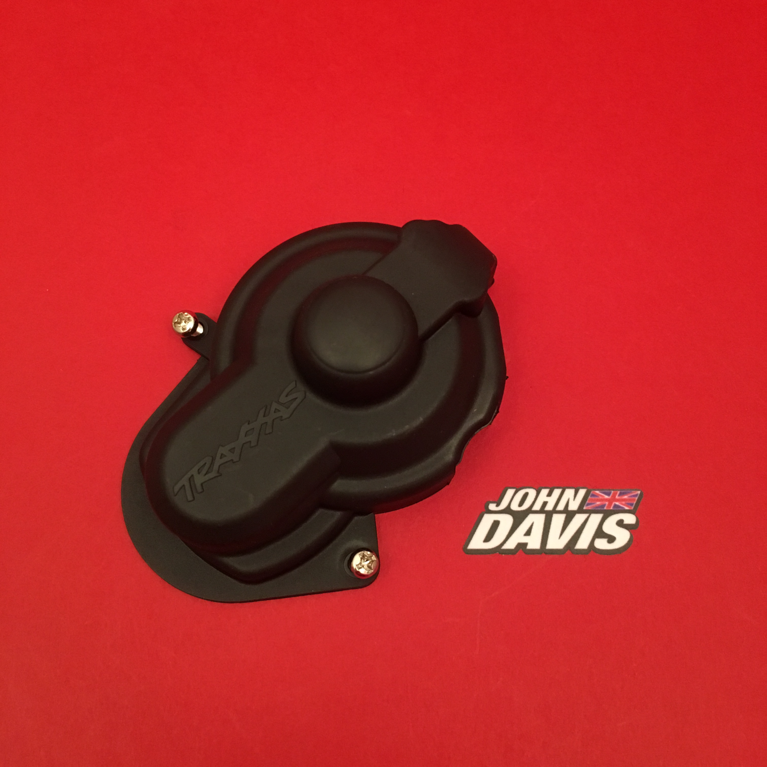 Dust Cover/Rubber Plug with Screws (Stampede/Rustler)