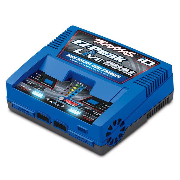 Traxxas EZ-Peak Live, 200W, NiMH/LiPo Bluetooth Dual ID Charger