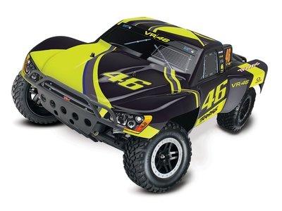 Traxxas Slash XL-5 VR46 1/10 2WD (TQ/8.4V/DC Chg) - Special Edition TRX58034-1-VR46