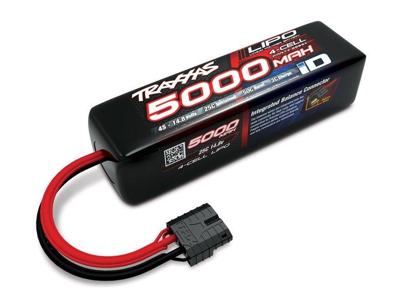 Traxxas 5000mAh 14.8V 25C Li-Po ID Battery (155x34x45mm)