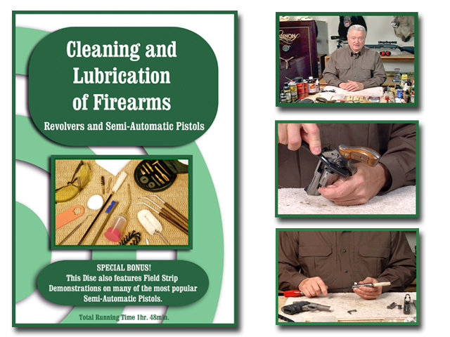 Cleaning and Lubrication of a Revolver and Pistol