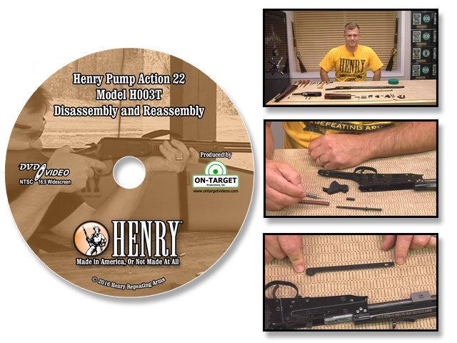 Henry H003T Pump Action Model in 22LR