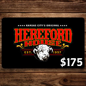 $175 Hereford House Gift Card