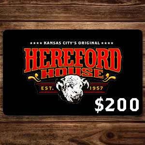 $200 Hereford House Gift Card
