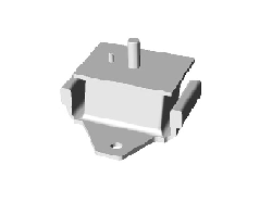 JAC ENGINE FRONT SUSPENSION RUBBER CUSHION ASSY 1001060LE010