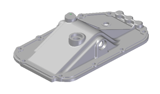 JAC GEARBOX COVER N-1702111-24-01