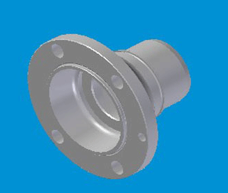 JAC MAIN SHAFT FLANGE N-1701371-21