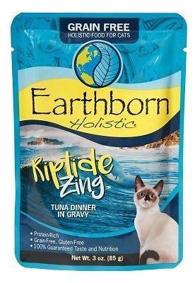 Earthborn Holistic Riptide Zing Tuna Dinner in Gravy 3 oz 12 count (3/20)