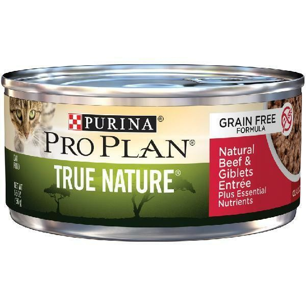 Purina Pro Plan True Nature Grain-free Classic Formula Natural Beef Giblets(5/19) (A.K3)