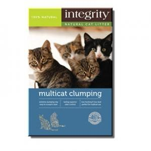 NEW Integrity Multi-Cat Clumping Litter 25 pounds (A.C4)