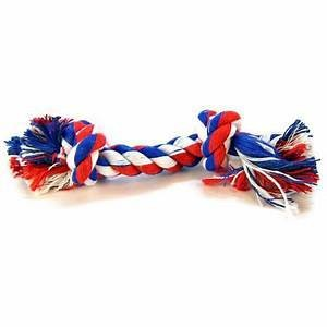 """AMAZON-Mammoth Flossy Chews Color Rope Bones LARGE 14"""" **Picture is for representation only** (/TOY)"""