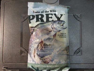 TRIAL SIZE: Taste of the Wild Trout Dog Food 6 oz (8/19)