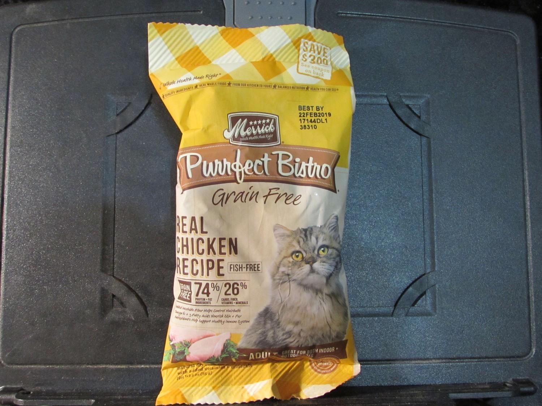 Merrick P urrfect Bistro Real Deboned Chicken GF 3 oz (1/19) (A.M5/CDS)