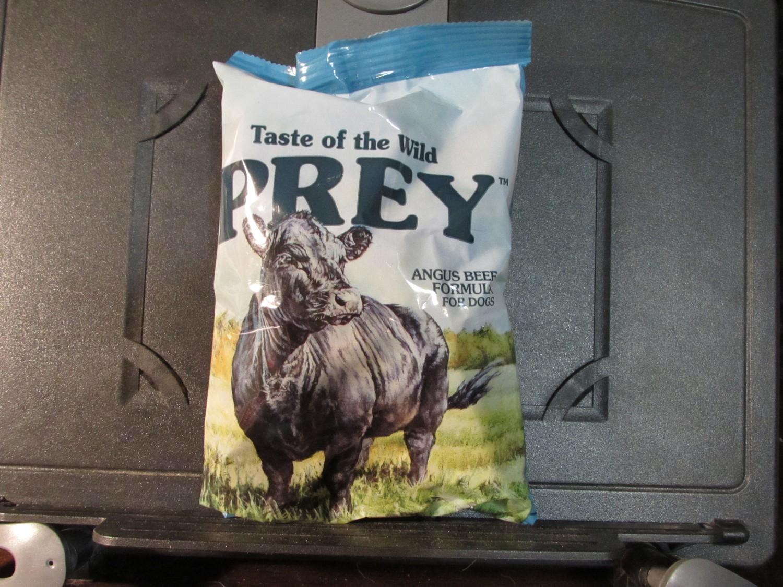 TRIAL SIZE: Taste of the Wild Prey Dog Angus Beef Dog 6 oz (8/19)