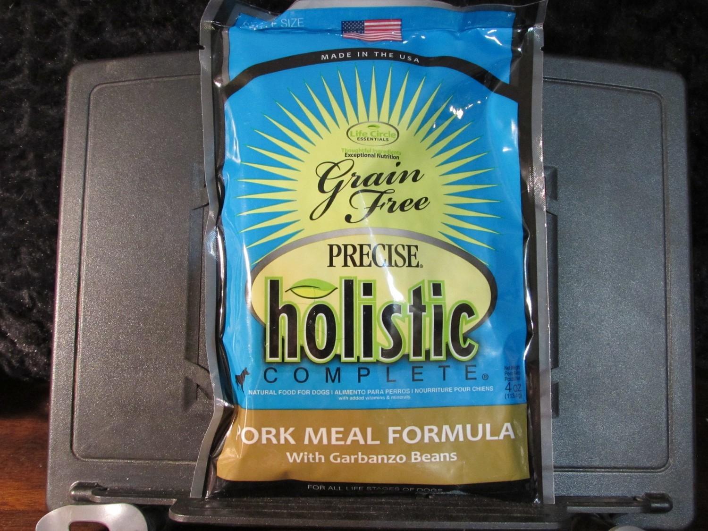Precise GF Holistic Select Pork & Garbanzo Beans 4 oz (10/18) (A.C3)