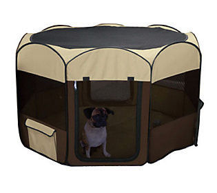 Deluxe Pop-Up Dog Pen, Small (28 H x 48 W x 48 D) (B.D2)