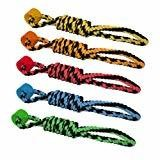 Multipet Rope Tug with One Wheel Dog Toy, 18-Inch (B.C3/TOY)