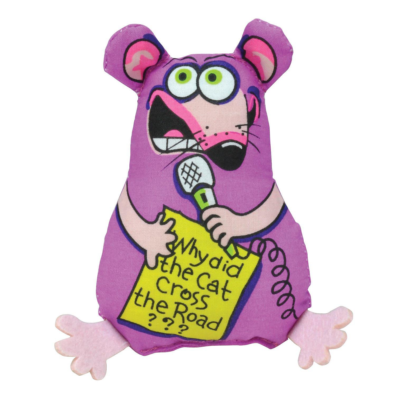 "Petstages Stand Up Mouse Cat Toy, 6.5"" L X 3.5"" W X 1.5"" H (B.C2/AM24)"