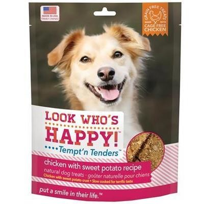 Look Who's Happy! Tempt'n Tenders Grain-Free CHICKEN & SWEET POTATO (4 OZ) (11/19) (B.C2)
